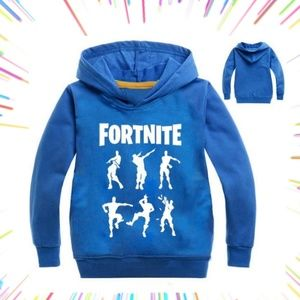 FORTNITE LONG SLEEVED SHIRT WITH HOODIE